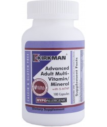 Advanced Adult Multi-Vitamin/Mineral - with 5-MTHF Hypoallergenic