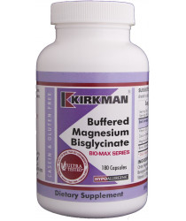 Buffered Magnesium Bisglycinate® Capsules - Bio-Max Series - Hypo 180 ct