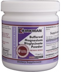 Buffered Magnesium Bisglycinate® Powder - Bio-Max Series 4 oz