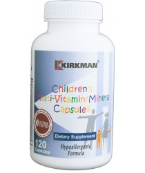 Children's Multi-Vitamin/Mineral Capsules - Hypo 120 ct