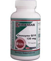 Coenzyme Q10 120 mg Capsules - Hypo 90 ct