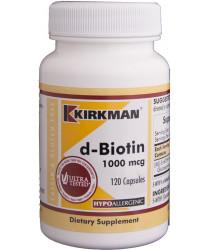 D -Biotin 1000 mcg Capsules - Hypo 120 ct