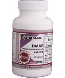 DMAE (Dimethylaminoethanol) 250 mg - Hypoallergenic
