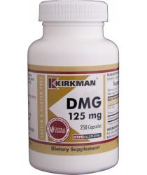 DMG (Dimethylglycine) 125 mg Capsules - Hypo 250 ct