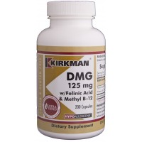 DMG (Dimethylglycine) w/Folinic Acid & B-12 Capsules - Hypo 200 ct