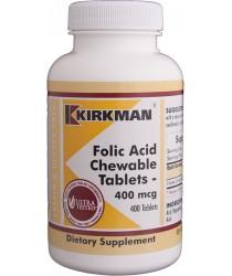 Folic Acid 400 mcg Chewable Tablets 400 ct