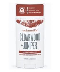 Schmidt's Natural Deodorant - Cedarwood + Juniper