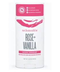 Schmidt's Natural Deodorant - Rose + Vanilla