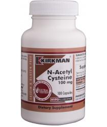 N-Acetyl Cysteine 100 mg Capsules - Hypo 100 ct