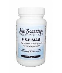 P-5-P MAG - Pyridoxal-5-Phosphate w/Magnesium (100 caps)