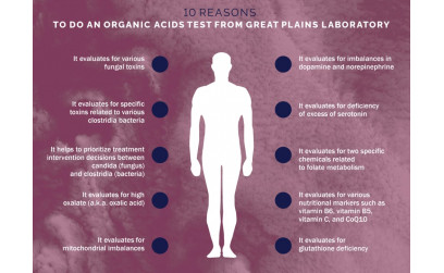 Top 10 reason to do an Organic Acids Test - Great Plains Laboratory
