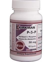 P-5-P (Pyridoxal 5-Phosphate, Vitamin B-6 Metabolite) 50 mg - Hypoallergenic