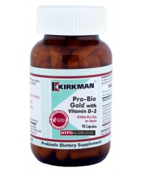 Pro-Bio Gold™ with Vitamin D-3 - Hypoallergenic