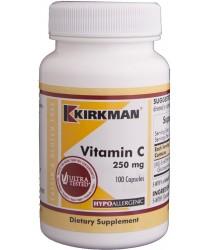 Vitamin C 250 mg Capsules - Hypo 100 ct